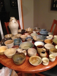 Just a few of the bowls and vases I did this last year. I have been throwing ceramics for 6 years now.